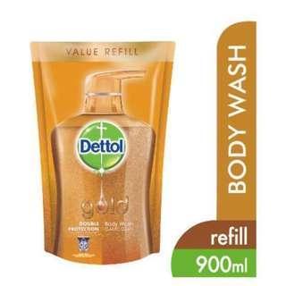 Dettol Gold 900ml Classic Clean Body Wash