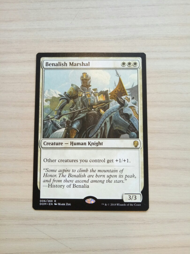 4x Benalish Marshal NM-Mint,