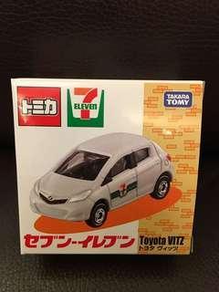 TOMY TOMICA 7 11 TOYOTA 豐田 VITZ ECHO 營業車