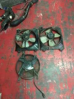 Kipas aircond dan kipas radiator Evo