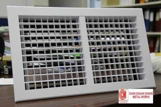 Double Deflection Grille for ACMV & HVAC (Ducting / Shiprepair / Aircon)