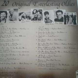 20 Original Everlasting Oldies 舊黑膠 vinyl