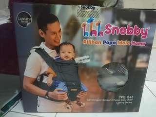PROMO Snobby Gendongan HipSeat 6 Posisi Saku Motif Luxury Series TPG 1843 #momjualan