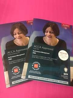 2019 ACCA F5 Performance Management 1 set