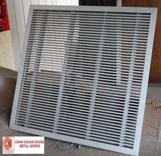 Heavy Duty Computer Floor Grille for ACMV & HVAC (Ducting / Shiprepair / Aircon)