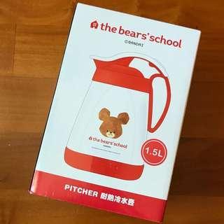 the bear's school 耐熱冷水壺