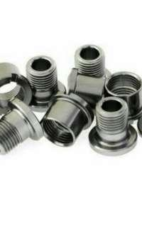 Alloy Chainring Bolts - 4Sets