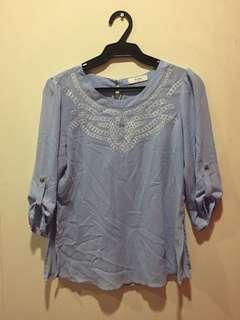 Periwinkle Blouse