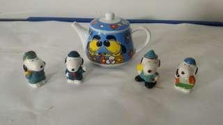 茶壶与小童