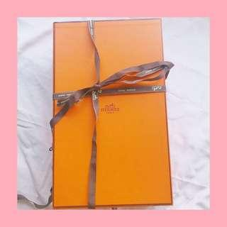 Hermes shoes sliding box