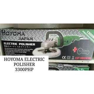 HOYOMA ELECTRIC POLISHER