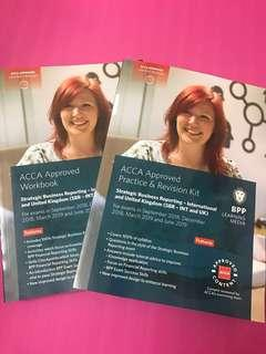 2019 ACCA SBR Strategic Business Reporting Workbook & Revision Kit