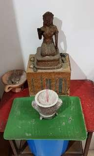 Vintage rare Thai god statue for next new lucky owner