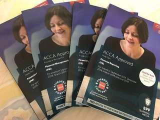 (NEW) ACCA F5, F6, F7, F9, P2, P4 BPP Textbook & Revision Kit