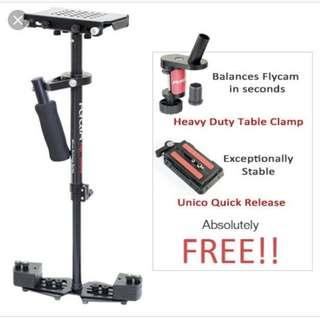 Fly Cam Stabilizer for your action movie needs!