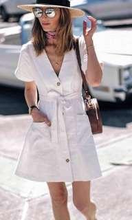 Zara Inspired BKK Linen Dress
