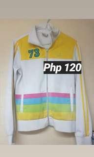White Track Jacket (Sports style)