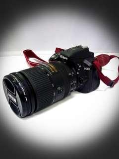 @Pre-Loved NIKON D5300 DSLR Camera With NIKON AF-S DX NIKKOR 18-300mm f/3.5-6 3G ED VR Lens .
