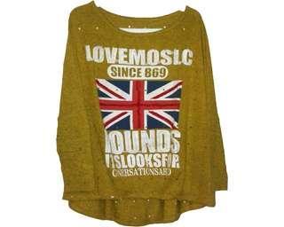 No Brand - Yellow Sweater