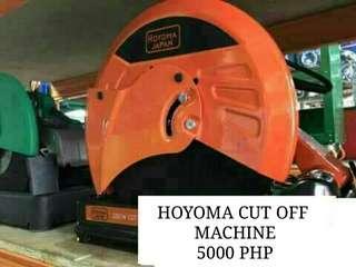 HOYOMA CUT OFF MACHINE