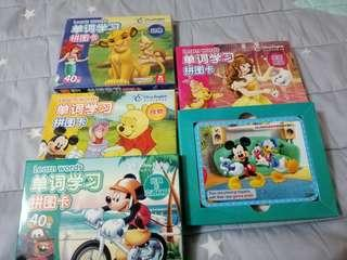 Disney's Learning Cards