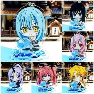 [PO 4] Tensei Shitara Slime Datta Ken Double Sided Acrylic Keychain and Stand