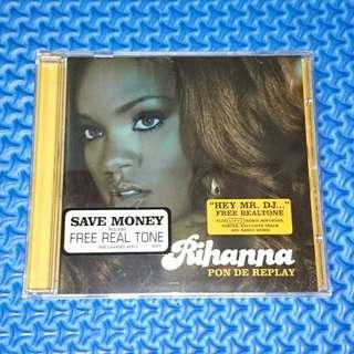 🆒 Rihanna - Pon De Replay [2005] Single Audio CD