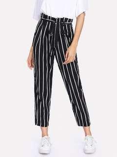 Shein Striped pants