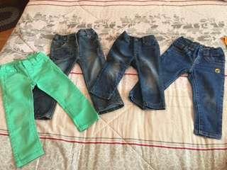 Assorted girl pants