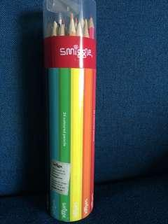 Smiggles colour pencils