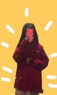 Nike authentic oversized hoodie