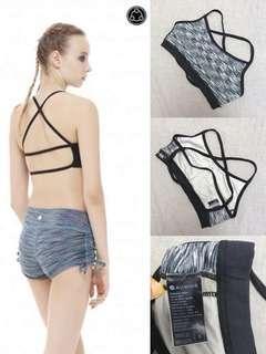 [ Aumnie。sport bra。90%new著小過五次。Lululemo。Yoga。瑜伽服。修身。顯瘦。運動衫。健身 ]