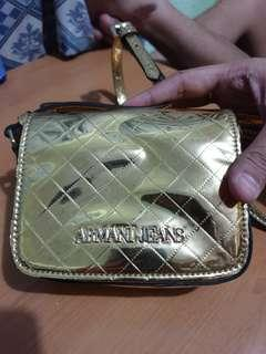 Authentic Armani Jeans mini crossbody bag