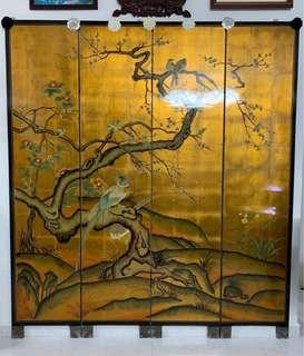 Vintage Wooden Wall Mural