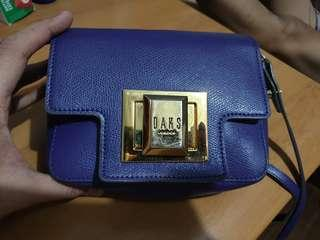 Authentic Daks London epsom crossbody bag