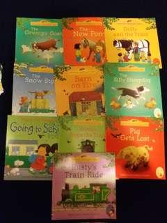 兒童故事書~Usborne farmyard tales series