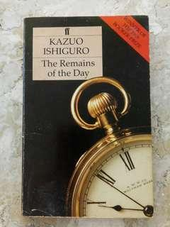 The Remains of the Day by Kazuo Ishiguro - Trade Paperback (1989)