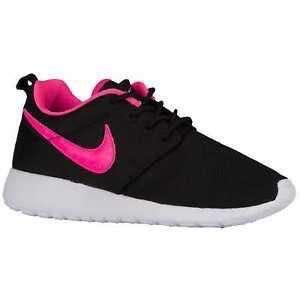 Nike Roshe (Black and Pink)