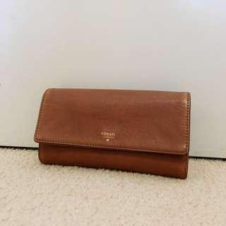 Authentic Fossil Wallet