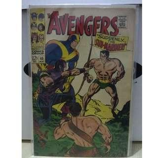 🚚 Avengers Vol. 1 #40 - 1st  and only appearance of the Amalga Beast