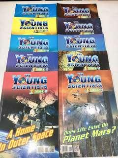 Young Scientists Level 04 (01-10) Collection of 10 books