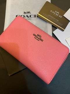 Authentic Original Coach women wallet purse wristlets clutch