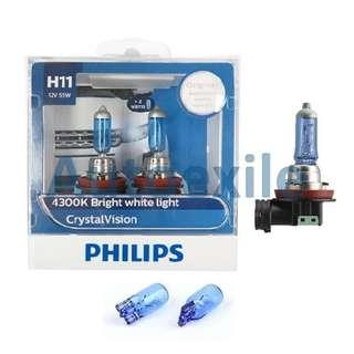 Philips Crystal Vision 4300K LTA Approved Bulb
