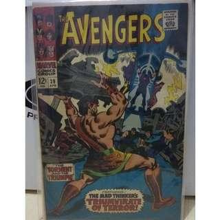 🚚 Avengers Vol. 1 #39 - 1st appearance of the Triumvirate of Terror!
