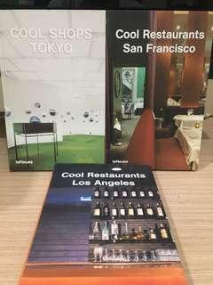 (Preloved) COOL interior design books