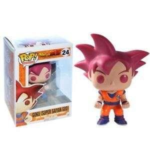 LF/ ISO Super Saiyan God Goku ( Authentic ) and Goku Orange on Nimbus Cloud