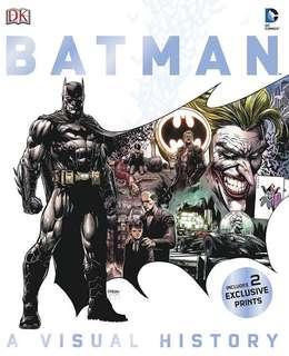 Batman: A Visual History (Hardcover with Slipcase)