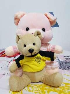 Selling Pink Pig Toy & Given away Brown Bear and Ikea Clock