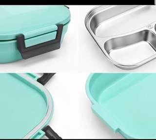 100% 全新 不銹鋼能加熱飯盒 / 保溫飯盒