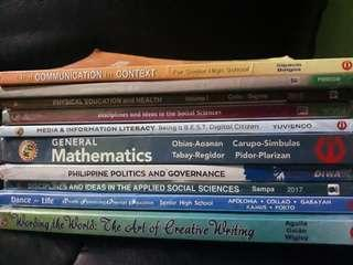 Senior High School BOOKS 100 PESOS
